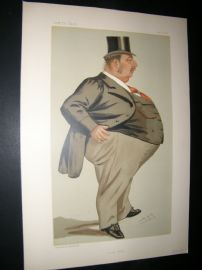 Vanity Fair Print 1887 Charles Isaac Elton, Legal Spy Cartoon